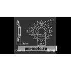 Звезда передняя SIAM DCF 526.15 GPZ1000RX86-(под 630)